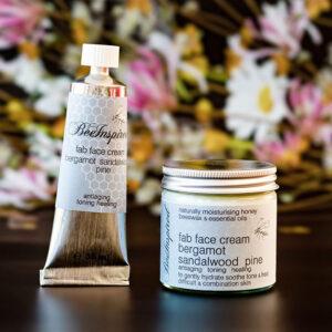 bergamot sandalwood pine BOTH Fab Face Cream